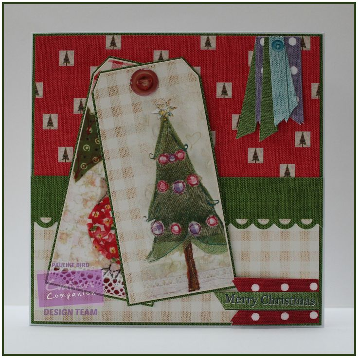 Pauline Bird, Romany Christmas CD,  Blended Tags 2, Design Set 4 Colour 3,  Co-ordinating Papers: 11 Colour 2; 1 Colour 6, Sentiments 3, Verse Writer - #crafterscompanion #Christmas