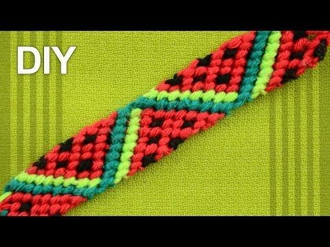 Follow this video tutorial to learn how to make a fruity friendship bracelet. – Katie Bennett