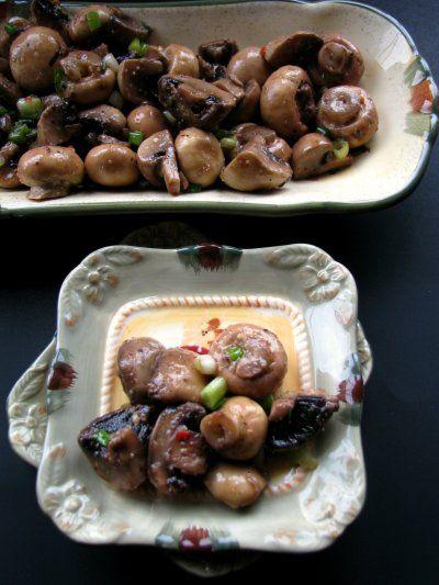 Marinated Mushrooms by Petit Foodie