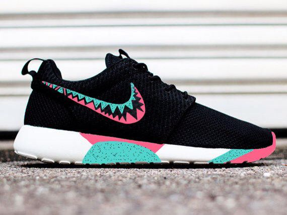 Cute black and blue and Pink roshes