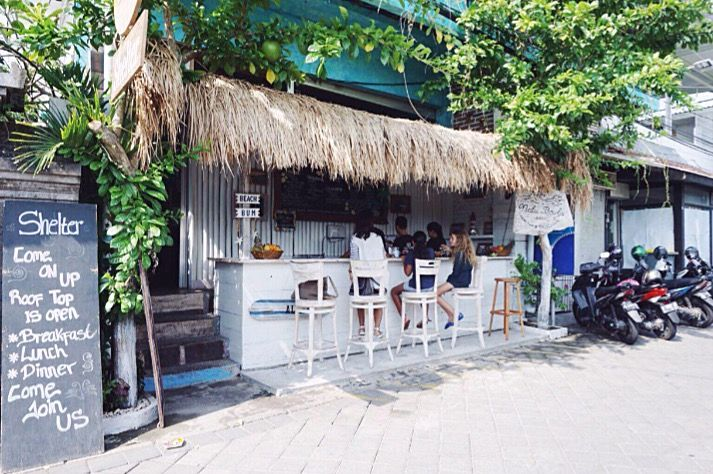 Seminyak, Bali - Breakfast: Shelter & Nalu Bowels, definitely Top 5 breakfast in the 'yak.