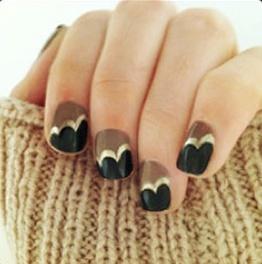 Art deco nails <3