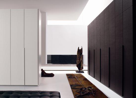 The Bedroom Tattoo Wardrobe Design With Wooden Textured Doors Home Interior Design