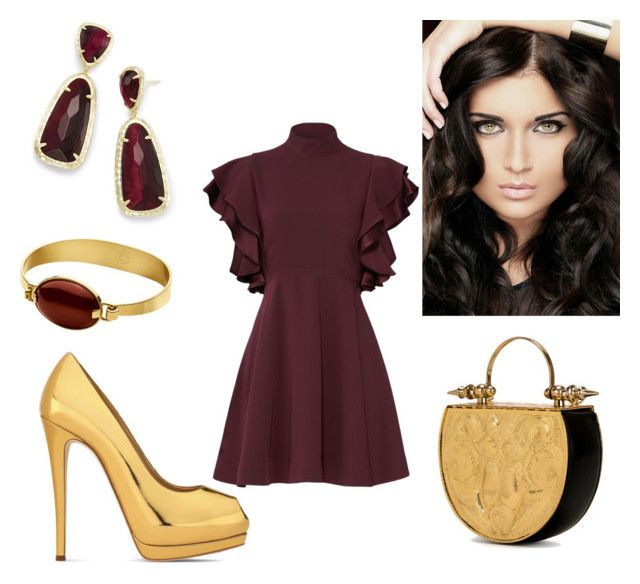 Style 3 by krisstik on Polyvore featuring polyvore, fashion, style, Cinq à Sept, Giuseppe Zanotti, Okhtein, Kendra Scott, Dyrberg/Kern and clothing