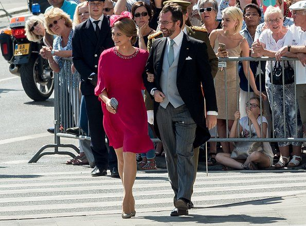 prins guillaime en prinses stephanie 23-6-2017 Grand Ducal Family Celebrates National Day