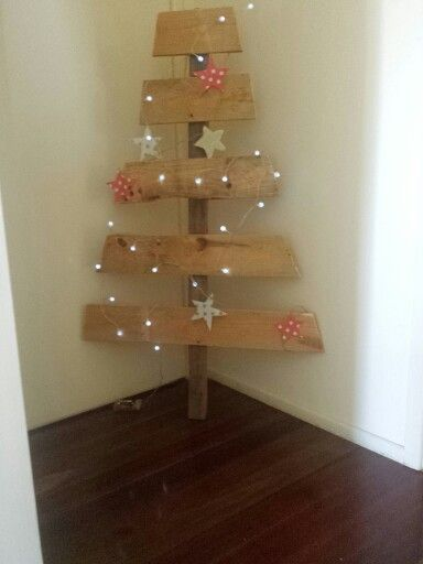 Handmade Rustic Timber Christmas tree