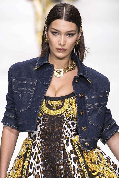 Versace, Весна/Лето 2018, Милан, Womenswear