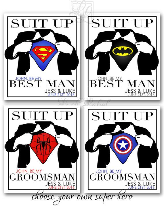 best man groomsmen superhero wine beer flask by lushlabel on etsy wedding pinterest flask. Black Bedroom Furniture Sets. Home Design Ideas