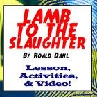 Lamb To The Slaughter By Roald Dahl Lesson and Activities - Presto Plans