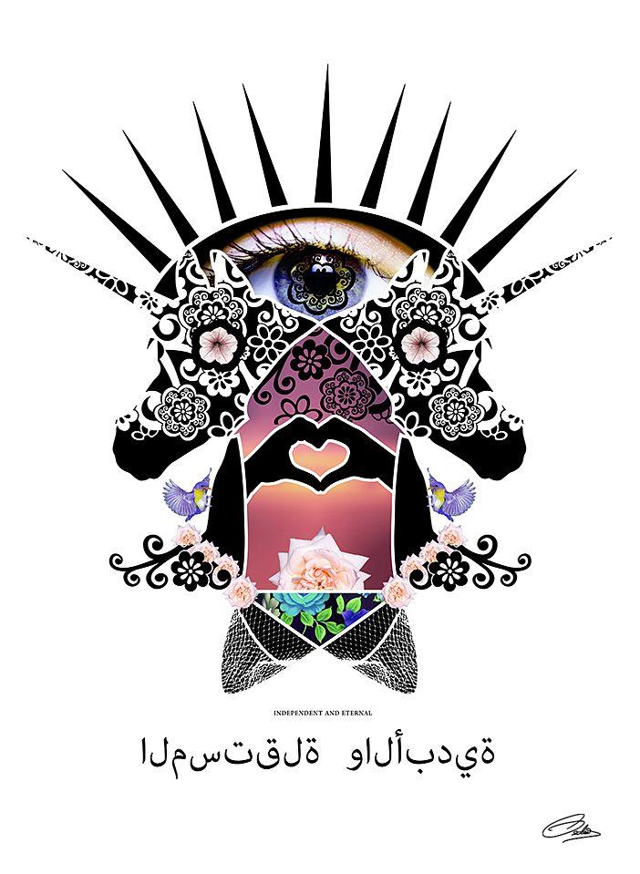 Unicorn by www.liselotteosterby.com
