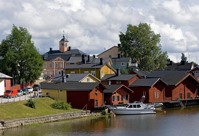 Finland: Porvoo   Borgå by annelivia, via Flickr