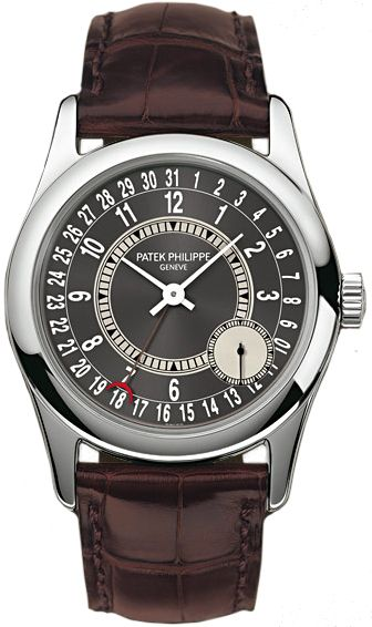 6000g-010 Patek Philippe Calatrava Mens Watch