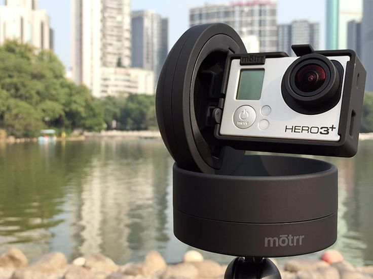 Originally designed for the iPhone and iPod Touch, the motorized Galileo dock can now be used to smoothly pan and tilt a GoPro camera.