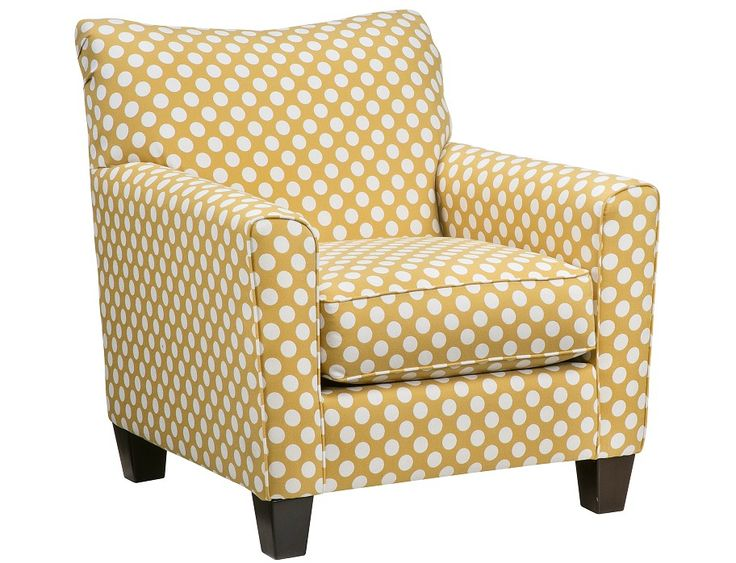 Great Accent Chair Sure To Give The Room A Cheerful Look!