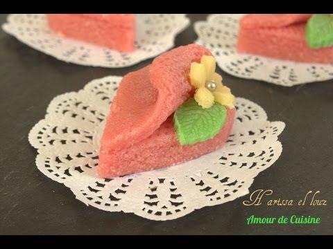 Skikrates gâteau algerien a la noix de coco sans cuisson - Amour de cuisine