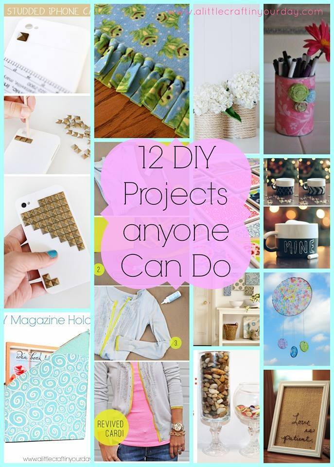 12 DIY Projects Anyone Can Do