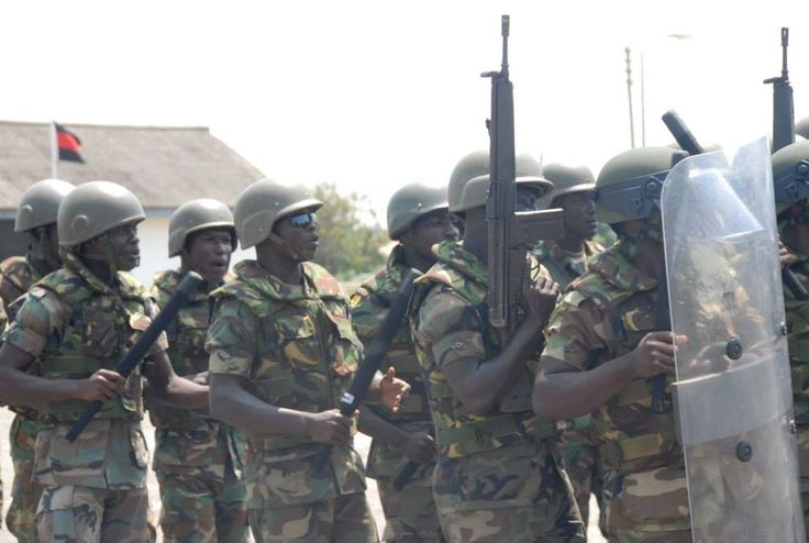 15 GHANA Power Index: 2.9726 The Ghana Armed Forces (GAF) are supervised by the Ghanaian Ministry of Defense, and are under the command of President John Dramani Mahama.
