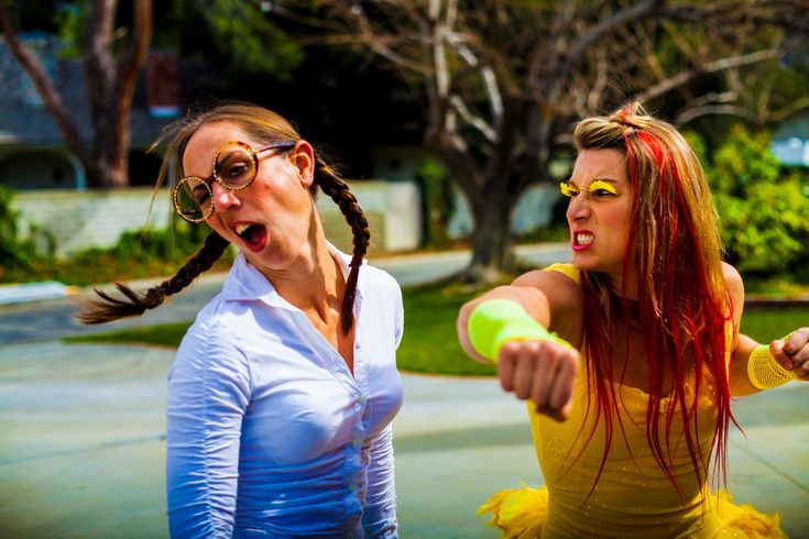 Epic Chick Fight, A Live Action Remake of the Epic Chicken Fight From 'Family Guy'