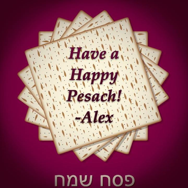 Best wishes for a Happy Pesach  - http://ift.tt/1PSOn4H