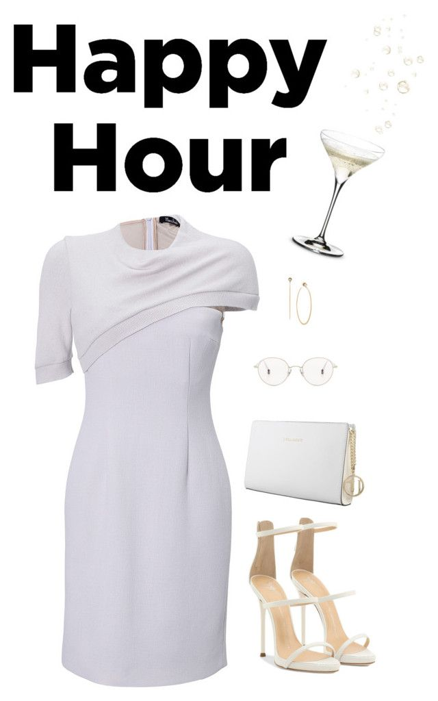 Bottoms Up: Happy Hour by ice058 on Polyvore featuring polyvore мода style Marios Schwab Giuseppe Zanotti Trussardi Michael Kors Ahlem Riedel fashion clothing