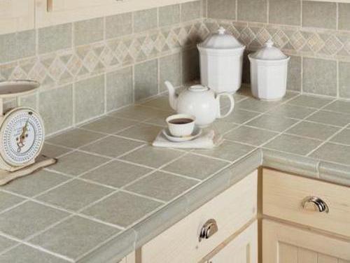 Porcelain Tile Countertops