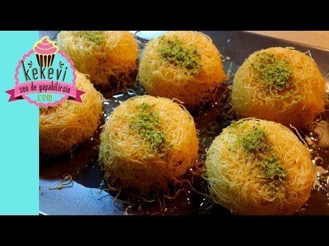 Fincanda / Muffin'da Tel Kadayıf - Kekevi Tatlı Tarifleri - YouTube