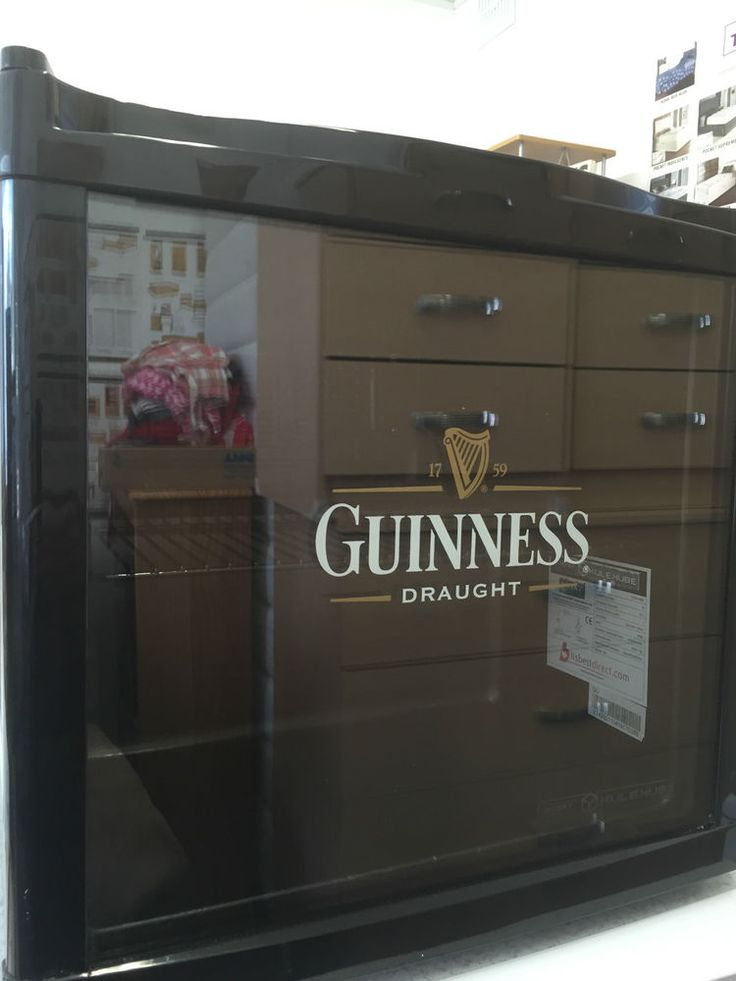 Husky Fridge Takes Guinness 40 Cans Smoke Free Home Can Deliver