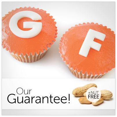 We are gluten and nut free!