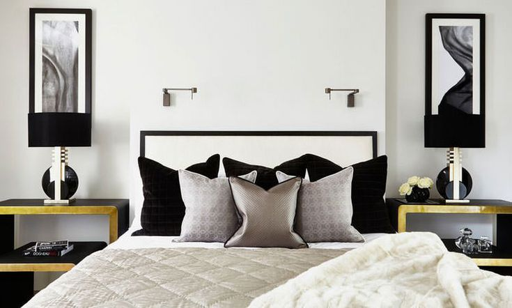 Da Letto In Bianco E Nero su Pinterest  Arredamento camera da letto ...