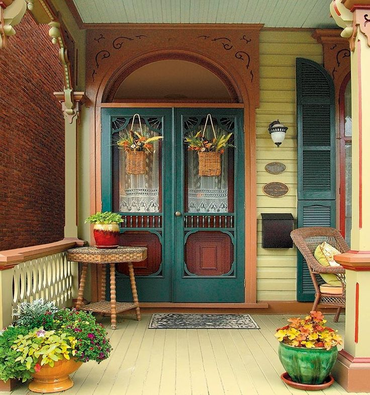 Porch Vs Deck Which Is The More Befitting For Your Home: 1000+ Ideas About Victorian Porch On Pinterest