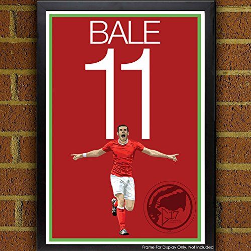 Gareth Bale Poster - Wales National Team Art. Wales National Team Poster: Gareth Bale Art Poster. La Liga Artwork Sizes Available: 8.5x11 inches 13x19 inches Poster printed on 100% acid-free premium archival fine art paper. The image comes with 1/2 inch white border border all around for easy framing. All items are shipping in rigid mailing tube to ensure it arrives in good condition.