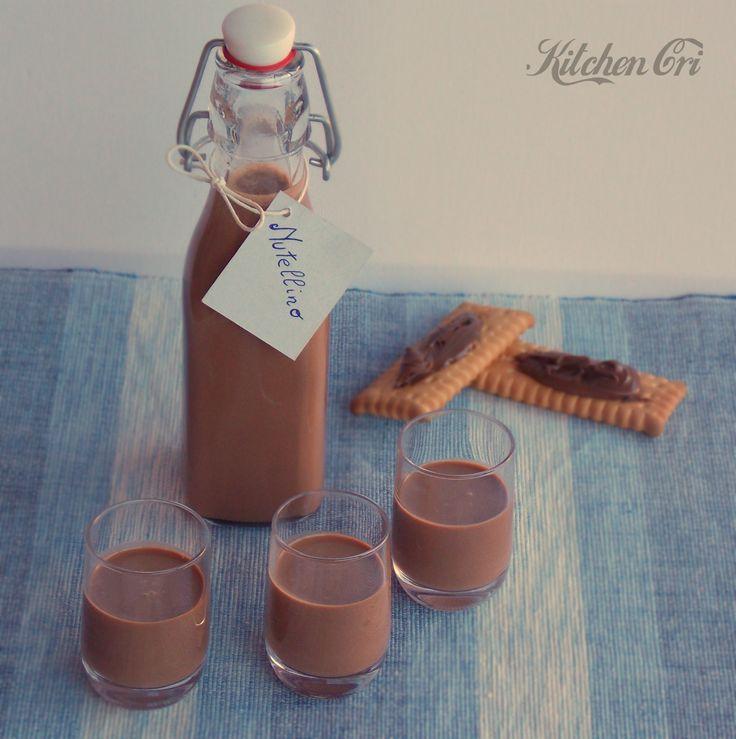 Liquore alla nutella, il Nutellino | Kitchen Cri