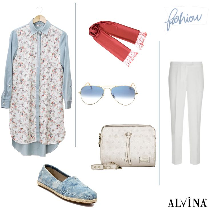 Bir ertesi gün için kombininiz hazır olsun.. Tunik; https://goo.gl/iKSXoi Çanta; https://goo.gl/tDRbkp #alvina #alvinamoda #alvinafashion #alvinaforever #hijab #hijabstyle #hijabfashion #tesettür #fashion #stylish #newcollection #kombin #bag #tunic
