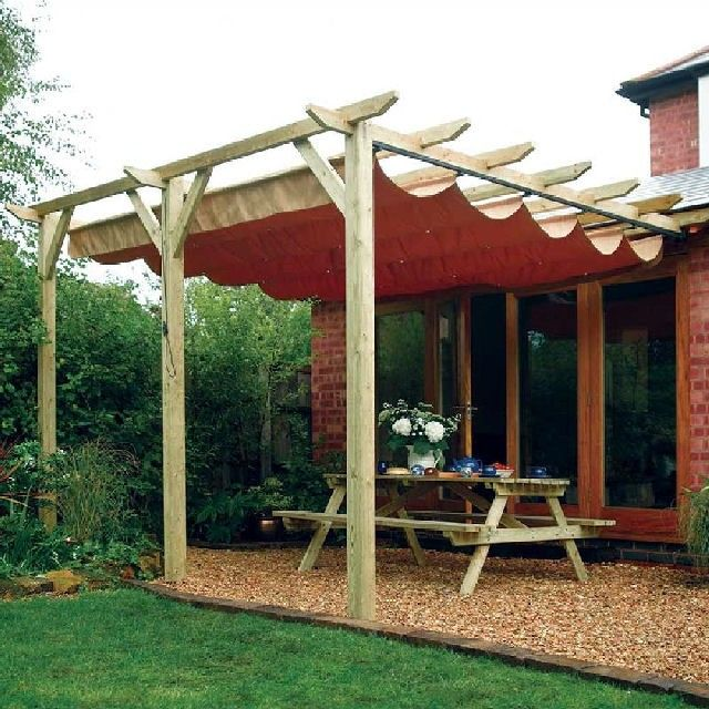 25+ best ideas about Pergola With Canopy on Pinterest | Pergola patio,  Patio shade and Traditional gazebos and canopies - 25+ Best Ideas About Pergola With Canopy On Pinterest Pergola