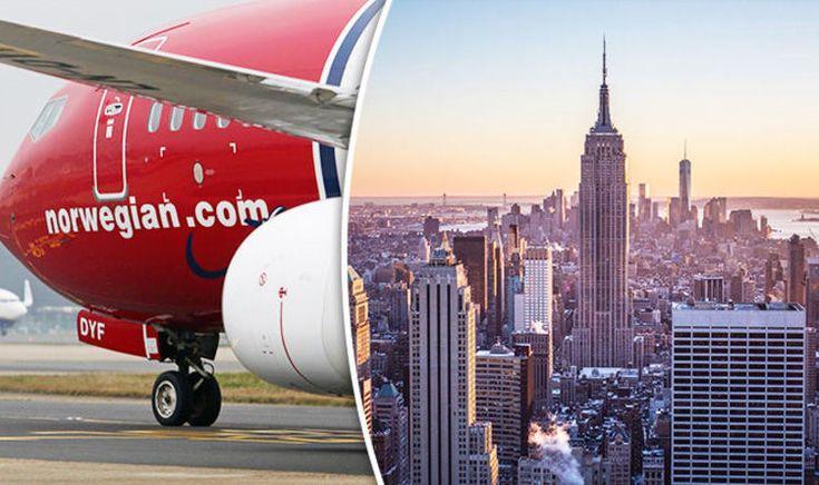 Cheap flights: Norwegian launch BARGAIN flights from Edinburgh to New York
