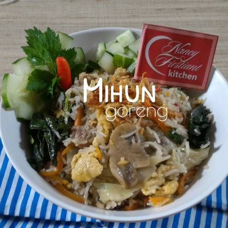 Daging Babi - Mihun Goreng