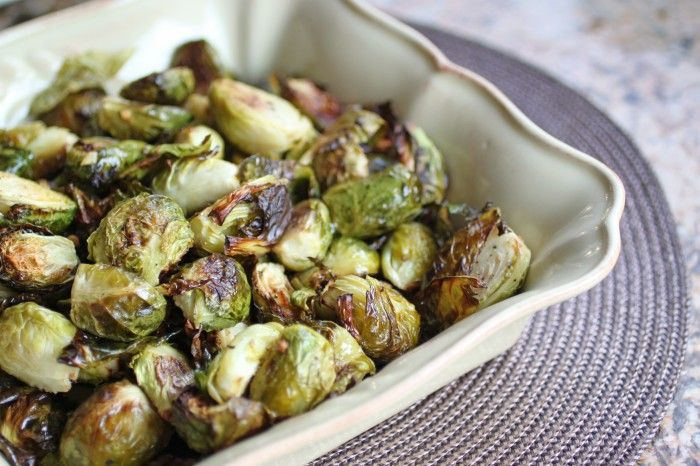Roasted Brussels Sprouts - The Food Lovers Kitchen