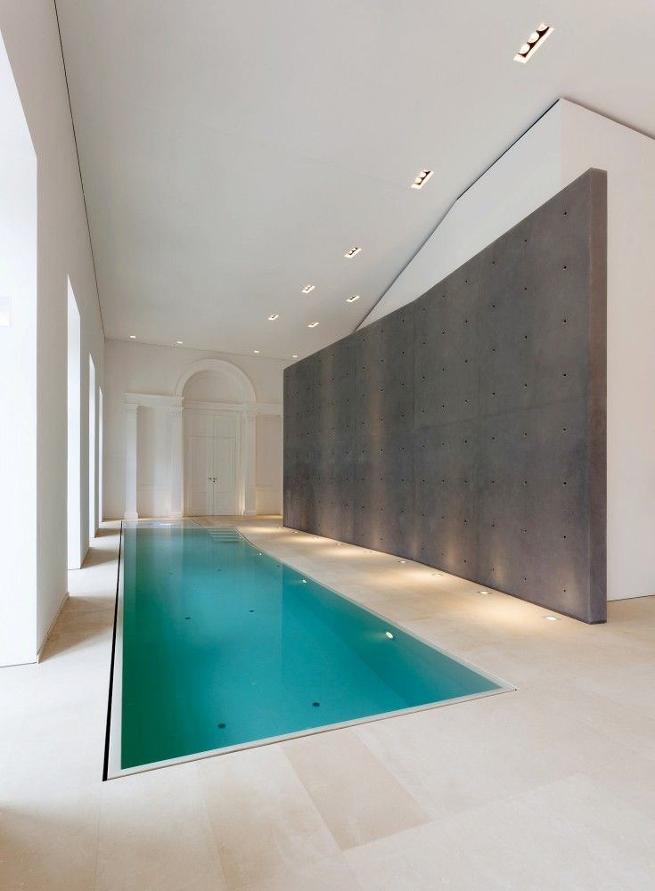 Indoor pool inside the Palais Rasumofsky by Baar-Baarenfels _