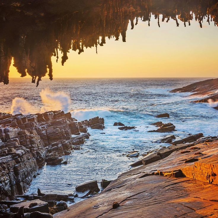 """""""And here is Admirals Arch, one of my top picks for Kangaroo Island and completely free to visit. This is in Flinders Chase National Park and if you look…"""""""