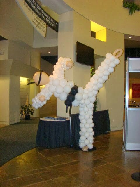 Karate Balloon Guy by www.atlantaevents.biz