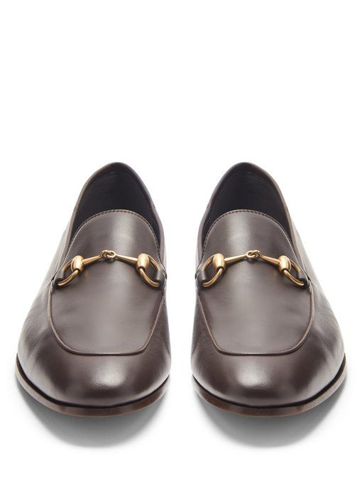 07c03df1cb43c4 Gucci Brixton leather loafers