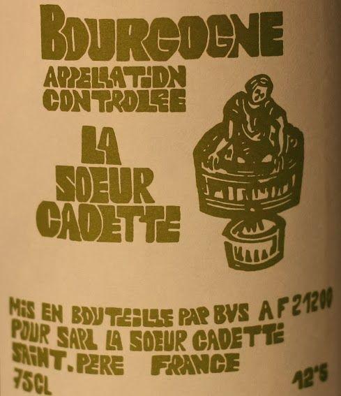HIPPOVINO: 14 vins pour débuter 2014, blancs et mousseux (partie 2) - Bourgogne La Soeur Cadette - vin blanc - Code SAQ 11460660