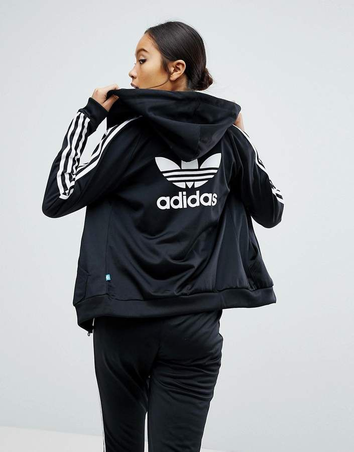 adidas Originals Slim Full Zip Hoodie