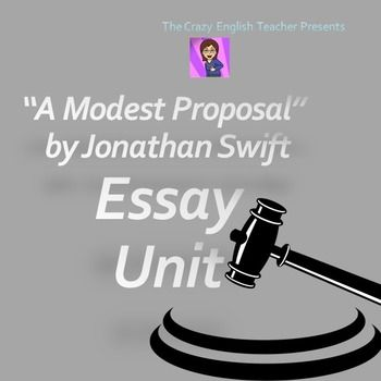a mix of sarcasm and irony in a modest proposal by jonathan swift A presentation concerning the use of satire, irony and persuasive writing techniques in jonathan swift's a modest proposal.