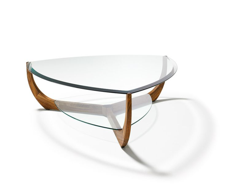 The Juwel Coffee Table By TEAM 7 Is A Real Gem In Every Shape ✓ Round, Oval  Or Triangular ✓ With A Clear Glass Top ✓ A Coffee Table With A  Sophisticated ...
