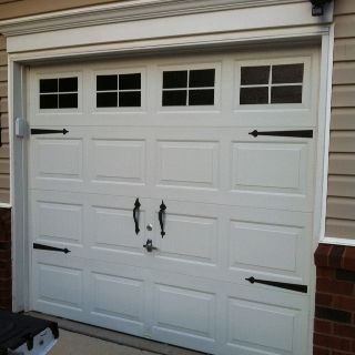 Faux Garage Windows After They Re Painted On My Diy