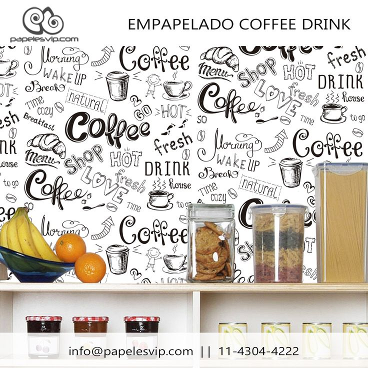 Papeles Vip empapelado cocina Coffee Drink Empapelado  #empapelado #papelesvip #diseños #personalizados #decoracion #deco #homedecor #revestimientos #paredes #wallpaper #interiores #interiordesign #decorar #empapelar #renovacion #interiores #vinilizado #lavable #empapelados #papeles #cocina #coffee #drink #words #papelespintados