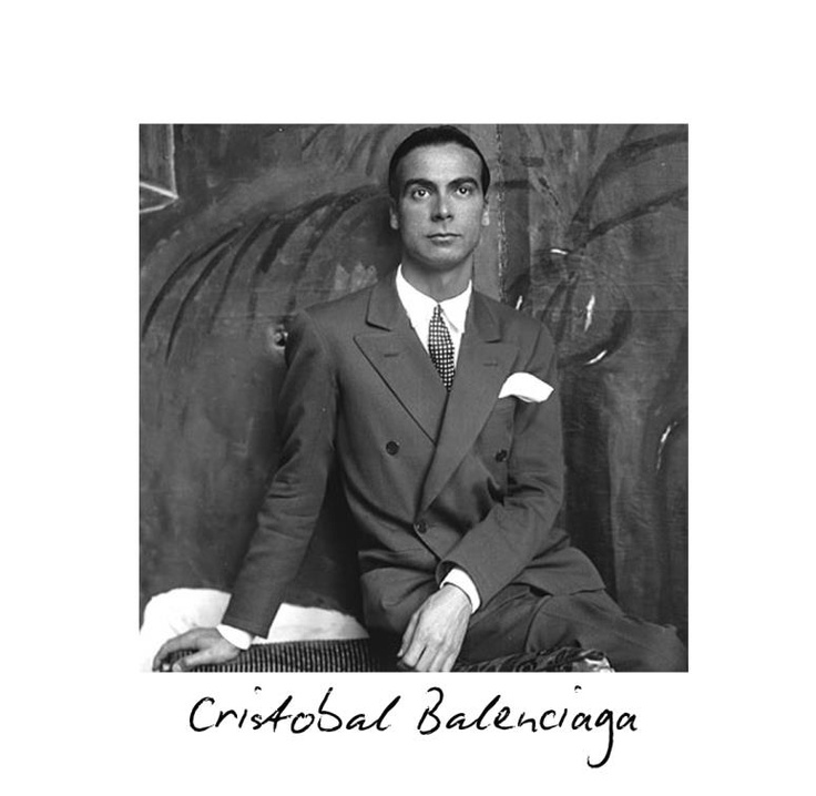 Cristóbal Balenciaga Eizaguirre was born in the Basque region of Spain in 1895. His mother was a seamstress and he learned the ins and outs of sewing and design from watching her at work.