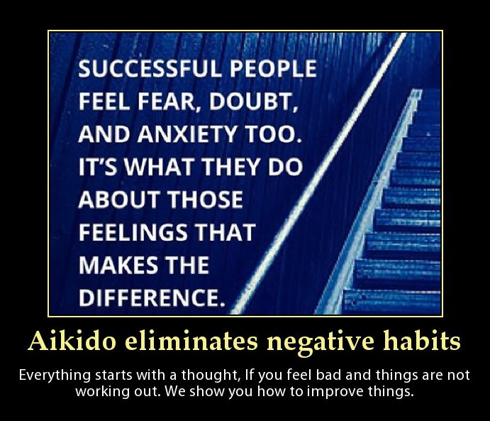 If you are stuck, confused feeling depressed Aikido can help you discover a whole new positive outlook on life. You have so much power, knowledge and skills within and we can help you unlock them. Pick up the phone and book a class now.