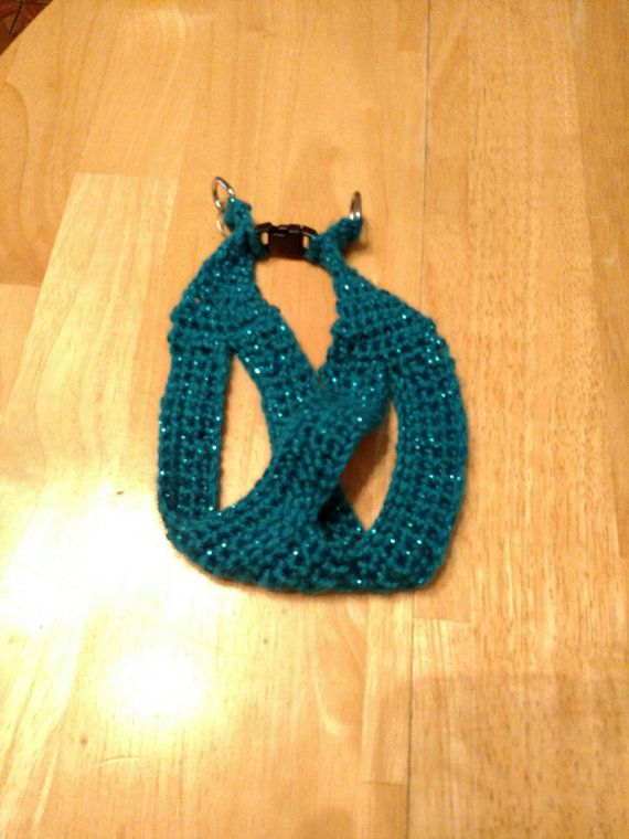 Small Dog Harness by GypsysTemptingTreats on Etsy